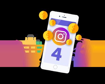 4 метода заработка в Инстаграме 2019: (легкие деньги в Instagram)