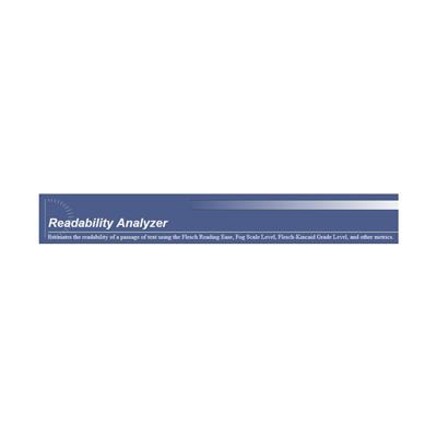 Readability Analyzer