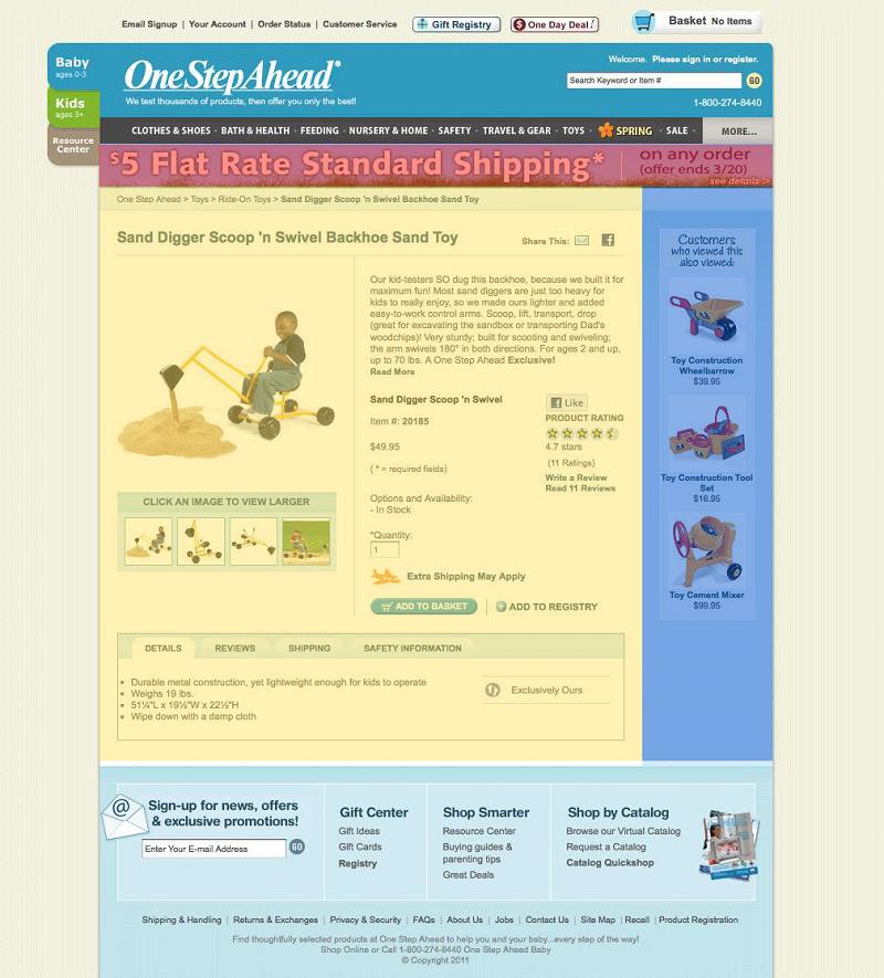 Основной контент интернет магазина
